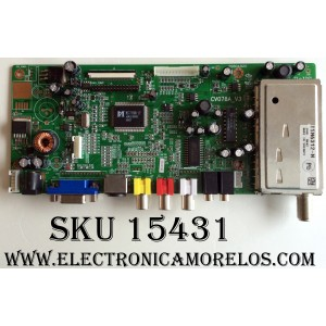 MAIN / SANSUI J12A350 / 2280AR20 / 20061224 / CV078A_V3 / CV078A_V3A0_032XX / PANEL LC201V02(A3)(KD) / MODELO LCD20EH