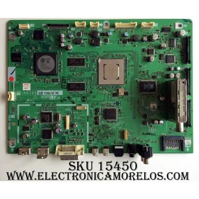 MAIN / SHARP DUNTKD743FM11 / KD743 / XD743WJ / MODELO LC-37D90U