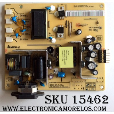 FUENTE / BACKLIGHT / VIEWSONIC 27-D015677 / DAC-19M005DF / 295302800 / MODELOS L1975NW / L2046NV