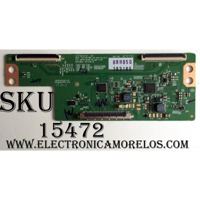 T-CON / LG 3831B / 6871L-3831B / 6870C-0532B / PANEL LC550EUE (FH)(M3) / MODELO 55LX774H-UA.BUSYLJR / 55LX774H-UA BUSYLJR