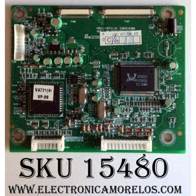 MAIN DIGITAL / VIEWSONIC 6201-7978908161 / VA521 / VA721 (A) / 2202518300 / PANEL CLAA170EA / MODELO VE710B VS10047
