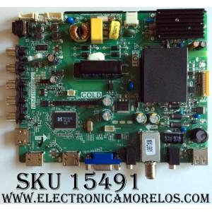 MAIN / FUENTE / (COMBO) / SANYO B15062071 / TP.MS3393T.PB79 / 3MS3393X-2 / 02-SHS39A-C002009 / MODELO FW32D25T