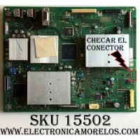 MAIN / SONY A1418995A / 1-873-846-14 / PANEL LTY460HH-LH2 / MODELO KDL-46XBR5