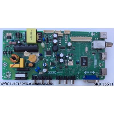 FUENTE / MAIN / (COMBO) / TCL L16031821 / GTC000447A / T8-32NATL-MA2 / 02-SHY39V-CHNA04 / V8-MS39PVN-LF1V046 / TP.MS3393T.PB710 / MS39PV