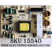 FUENTE DE PODER / SPELER KW-PLE320301B / DHX-2C / MO20120908002 / 20120913 / 3130 / PANEL T320XVN01.0 V.0 / MODELO ¨32¨