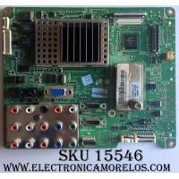 MAIN / SAMSUNG BN96-08251B / BN41-00975B / BN97-02424E / PANEL T460HW02 V.5 / MODELO LN46A530P1FXZA AA02