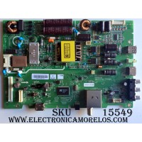 FUENTE / MAIN / LG 1605017M / 1605017M-M02543 /   1605017LA1245 / 5823-A6M68A-0P00 / CTI-600 /  MP: 03.00.04 (43)  / 43E3100 / 43´´