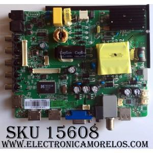 MAIN / FUENTE / (COMBO) / ELEMENT SY15197-1 ST3393LU-AP2 / PANEL LSC400HN  / MODELO  ELEFW408 / ELEFW408 F5G5M