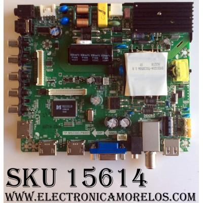 MAIN / FUENTE (COMBO) / ELEMENT K16099340 / TP.MS3393.PB801 / SY16219-1 / 890-M00-06NC6 / PANEL V500HJ-PE8 / MODELO ELEFW5016
