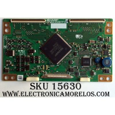 T-CON / SHARP CPWBX3503508TPZP / PANEL´S LK315T3LZ50Z / LK315T3LZ4BX / MODELO LC-C3242U