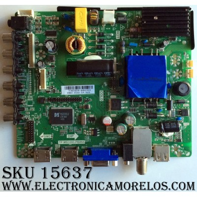 MAIN / FUENTE (COMBO) / PROSCAN 14223332046 / TP.MS3393.PB855 / Y14070035 / Y14070035-0H50133R / PANEL HV320WHB-N00