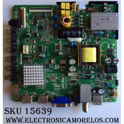 MAIN /FUENTE / (COMBO) / VIOS 8142123292001 / XSJ-1400029 / HK-T.RT2956P91 / PANEL HV320WX2-506