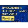 LED DRIVER / LG 6617L-0061F / 3PHGC20008B-R / PCLF-D002 F Rev0.1 / MODELO 42LV3520-UJ.CWMYLH / PANEL LC420EUN(RD)(V1)