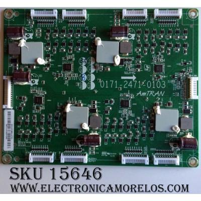 LED DRIVER / VIZIO 3655-0082-0111 / 0171-2471-0103 / MODELO M55-D0 LAUATZBS