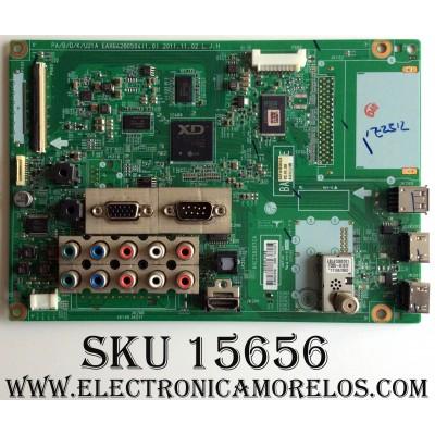 MAIN / LG EBT61875107 / EAX64280504(1.0) / SUSTITUTAS EBR74988101 / EBT61875109 / MODELO 50PA6500-UA.AUSLLHR / PANEL PDP50R4000