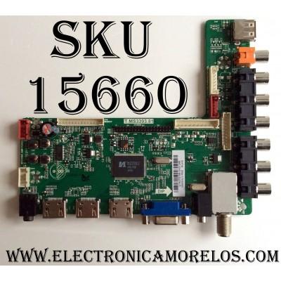 MAIN / U14070156 / T.MS3393.81 / T201406057 / (142123331009) / A40A / VLEDTV5014SM / PANEL V500HJ1-PE8