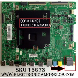 MAIN / NOTA IMPORTANTE: FALTA ((BALUM)) = TUNER / SAMSUNG BN94-10828A / BN97-10985A / BN41-02528A / MODELO UN65KU6500FXZA FA01 / PANEL CY-WK065HGLV1H