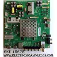 MAIN / VIZIO XHCB02K001 / (X)XHCB02K001050X / 715G7484-M1A-001-004Y / MODELO D50F-E1 LTMWVTET / PANEL TPT500J1-HVN07.U REV:S500Y