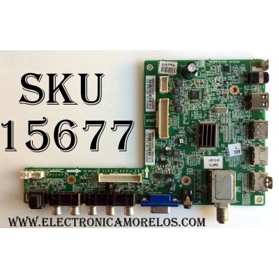MAIN / INSIGNIA 6MY00101D0 / 569MY0101B / 20130206 / PANEL V390HJ1-L02 REV:C1 / MODELO NS-39L400NA14