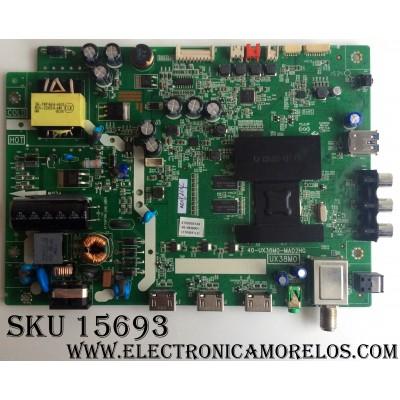 MAIN / FUENTE (COMBO) / TCL V8-UX38001-LF1V025(L2) / 40-UX38M0-MAD2HG / UX38M0 / GTC000213A / MODELO 32S3750