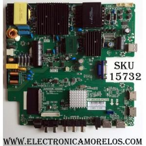 MAIN / FUENTE / (COMBO) SCEPTRE A16089751 / TP.MS3458.PC758 / 2605325A0 / MODELO U55 / PANEL LSC550FN19
