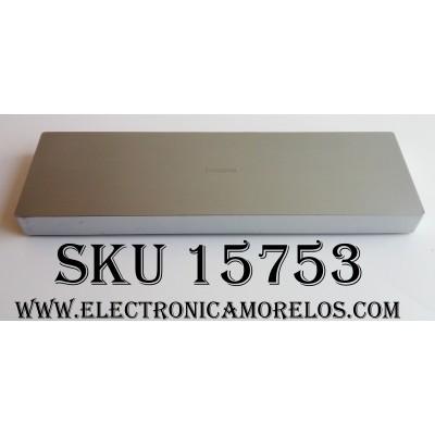 CAJA PARA TV SAMSUNG / ONE CONNECT BN91-14845B / ENTRADAS ANTENA / USB / HDMI / AUDIO OUT / EX-LINK / LAN / OPTICAL / IR OUT / MODELO UN48JS9000FXZA