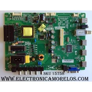MAIN / FUENTE (COMBO) / SANYO B13127045 / TP.MS3393.P77 / 3MS3393X / 02-SHY39B-CHS1 / MODELO DP32D53
