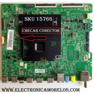 MAIN ((COMPARAR SI TIENE CONECTOR CON SU TARJETA)) / SAMSUNG BN94-10838A / BN41-02528A / BN97-10648A / PANEL CY-GK055HGLV1H / MODELO UN55KU630DFXZA FA01