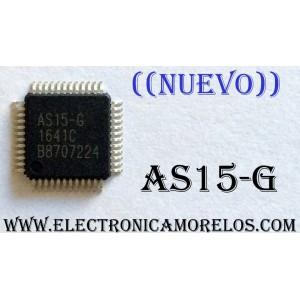 CIRCUITO INTEGRADO IC ((NUEVO)) / AS15-G / 1641C / B8707224 / COMPATIBLES O REMPLAZOS AS15 / AS15-D / AS15-E / AS15-F / AS15-U / AS15-H / AS15-HF / AS15-HU / AS15-HG / EC5575 / RM5101 / SL1015I / AAT7200 / HX8915A / TSL1014IF