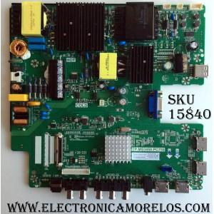 MAIN/ FUENTE / (COMBO) / SCEPTRE A16089743 / TP.MS3458.PC758 / MODELOS U55 / CN55XB8B00 / PANEL HV550QUB-N80