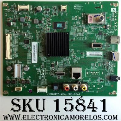 MAIN / SONY GXGCB02K0040 / 715G7862-M0A-000-004K / XGCB02K0040 / V4.200 / LP088187B / E243951 / MODELO KDL-55W650D