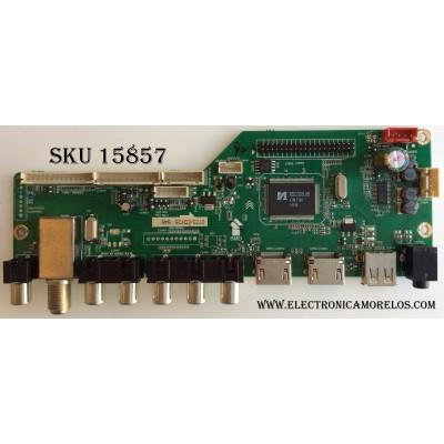 MAIN / RCA 395GE01M3393LNA35-A2 / LD.M3393.B / MK-RE01-140723-ZQ725 / 0723-ZQ725 / MODELO LED40C45RQ