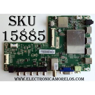 MAIN / SHARP 756XDCB01K090 / XDCB01K09001 / 715G5829-M01-005-004K / MODELO LC-39LE352U