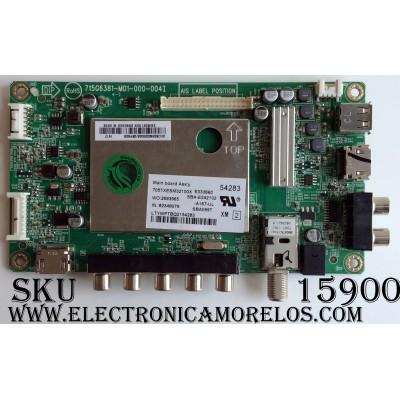 MAIN / VIZIO 756TXECB02K002 / XECB02K002 / XECB02K0020002/D6YKX6 / 715G6381-M01-000-004I / MODELO E420-B1 LTMWPTBQ / PANEL TPT420H2-HVN06