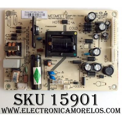 FUENTE DE PODER / POLAROID MP135H-73V350 / MP135H-73V350 REV:1.0 / MODELO 32GSR3000