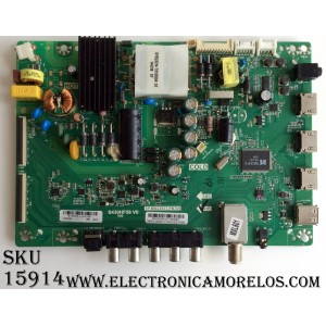 MAIN / FUENTE (COMBO) / INSIGNIA 55.43S02.2E1 / TP.MS3393T.PB709 / 5543S022E1 / B15020914 / S430HF56 V0 V03 / MODELO NS-43D420NA16 / NUMERO DE PANEL T430HVN0 1.2/1.7 / S430HF56 V0