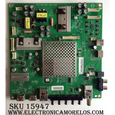 MAIN / VIZIO GXFCB02K035 / GXFCB02K035020X / 756TXFCB02K0350 / 715G7484-M01-001-004Y / CBPFF7AKA2 / MODELO E55-C1 LTCWSHBR