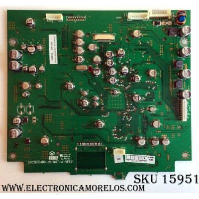 TARJETA DIGITAL / MINTEK DHC260CARD / DHC260CARD-HD-M0T-A-VER1.1 / MODELO DTV-265-D / PANEL LC260WX2 (SL)(B3)