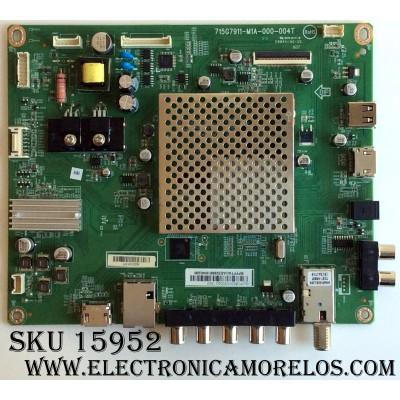 MAIN / VIZIO XFCB02K055 / 756TXFCB02K0550 / (Q)XFCB02K055020Q / 715G7911-M0D-000-004T / 715G7911-M1A-000-004T / CBPFF7AKAE / PANEL TPT400LA-HN02.S REV:SG02B / MODELOS D40-D1 LTTETVAR / D40-D1 LTTETVAS