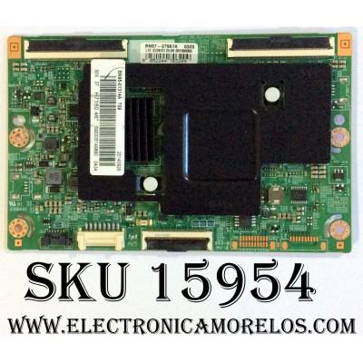 T-CON / SAMSUNG BN95-01314A / BN97-07967A / BN41-02131A / PANEL CY-SH046DSLV4H / MODELO HG46NC890XFXZA TS01