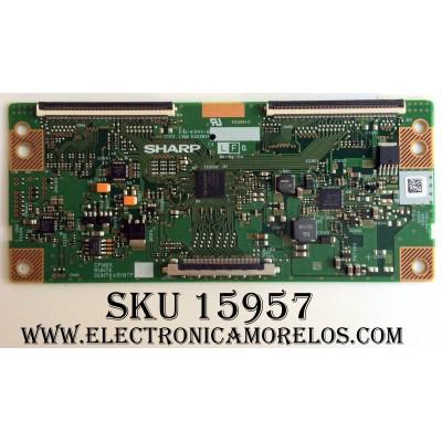 T-CON / RCA DUNTK4918TPZQ / 4918TPZQ / E222034 / PANEL LK400D3HC75-12V / MODELO LED40C45RQ