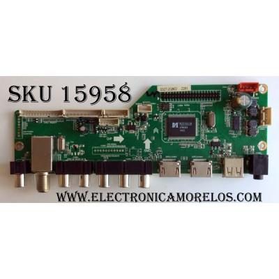 MAIN / RCA 40RE01M3393LNA35-A1 / LD.M3393.B / MK-RE01-140327-ZQ0902 / 3393B1415 / 20140411144428 12V a1 / PANEL LK400D3HC75-12V / MODELO LED40C45RQ