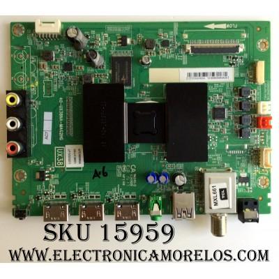 MAIN / TCL V8-UX38001-LF1V023(D7) / 40-UX38NA-MAG2HG / GTC000065A / PANEL LVF500CM0T / MODELO 50FS3800