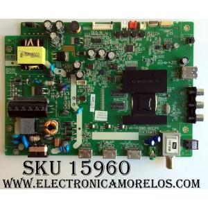 MAIN / TCL V8-UX38001-LF1V025(K1) / 40-UX38M0-MAD2HG / UX38M0 / GTC000156A / MODELO 32S301