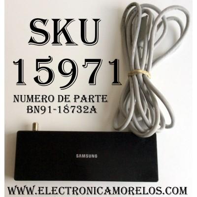CAJA PARA TV SAMSUNG / ONE CONNECT BN91-18732A / ENTRADAS HDMI / ANTENA / USB / OPTICAL / SUSTITUTAS BN96-44184A / BN91-19253A / MODELOS UN49MU8000FXZA / UN49MU800DFXZA