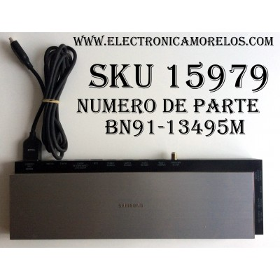 CAJA PARA TV SAMSUNG / ONE CONNECT BN91-13495M / ENTRADAS HDMI / ANTENA / USB / OPTICAL / PARTE SUSTITUTA BN94-07655M / MODELO UN65HU9000FXZA