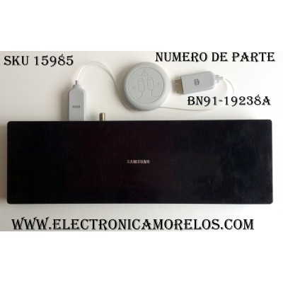 CAJA PARA TV SAMSUNG / ONE CONNECT BN91-19238A / ENTRADAS HDMI / ANTENA / USB / EX-LINK / LAN / OPTICAL / SOC1000MA / S0C1000MA / BN68-07104D-00 / BN39-02301A J52UW2748 / MODELOS QN65Q7CAMFXZA  / QN65Q7CDMFXZA-18954