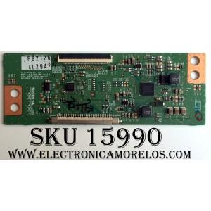 T-CON / LG 4029A / 6871L-4029A / 6870C-0565A / PANEL LC320DXE (MG)(A3) / MODELOS 32LF580B-UA BWMYLJM / 32LB5800-UG BUSWLJR