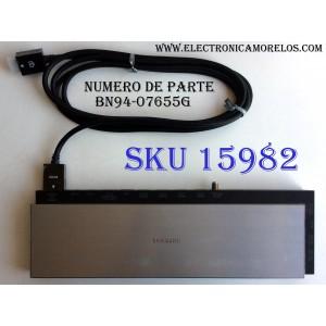 CAJA PARA TV SAMSUNG / ONE CONNECT BN94-07655G / ENTRADAS HDMI / ANTENA / USB / EX-LINK / LAN / OPTICAL / MX4029063 / R111443337 / SUSTITUTAS BN94-07755B / BN91-13492V / MODELO UN78HU9000FXZA