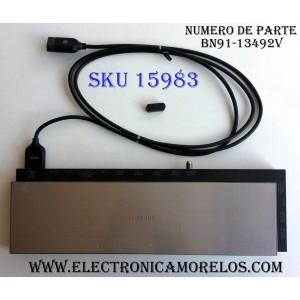 CAJA PARA TV SAMSUNG / ONE CONNECT BN91-13492V / ENTRADAS HDMI / ANTENA / USB / EX-LINK / LAN / OPTICAL / SUSTITUTAS BN94-07755B / BN94-07655G / MODELO UN78HU9000FXZA